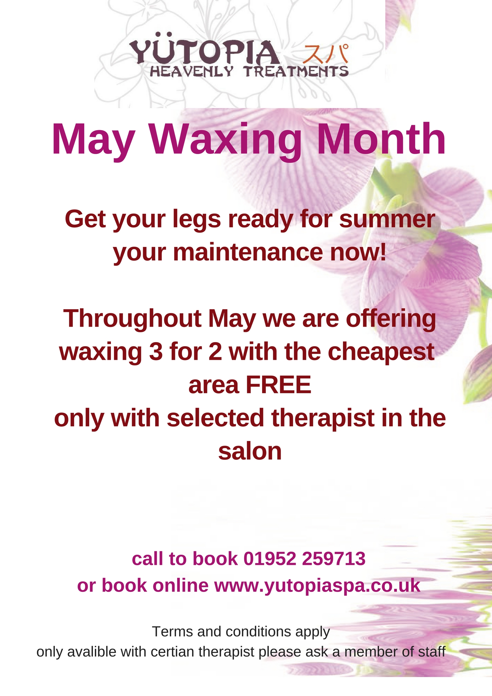 May waxing offer(1)
