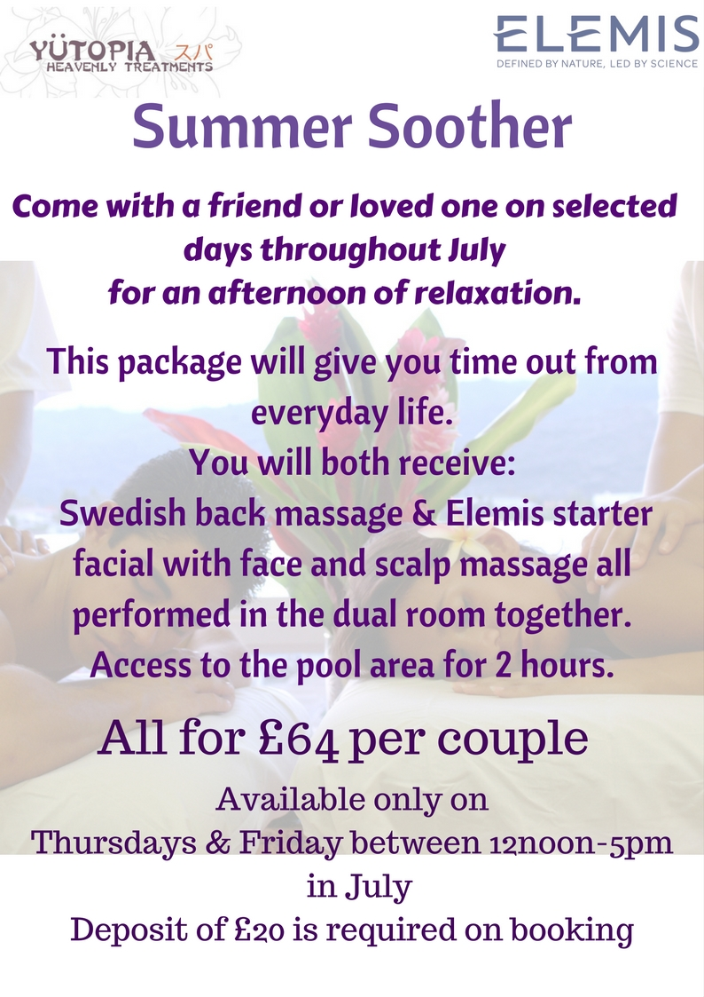 Twos Company pamper day july offer(1)