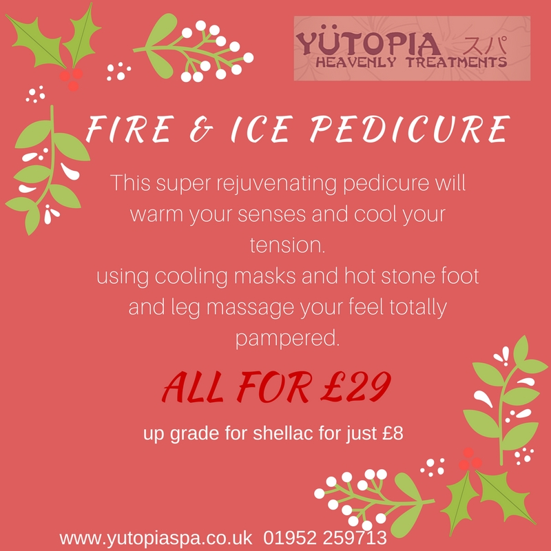 fire and ice pedicure
