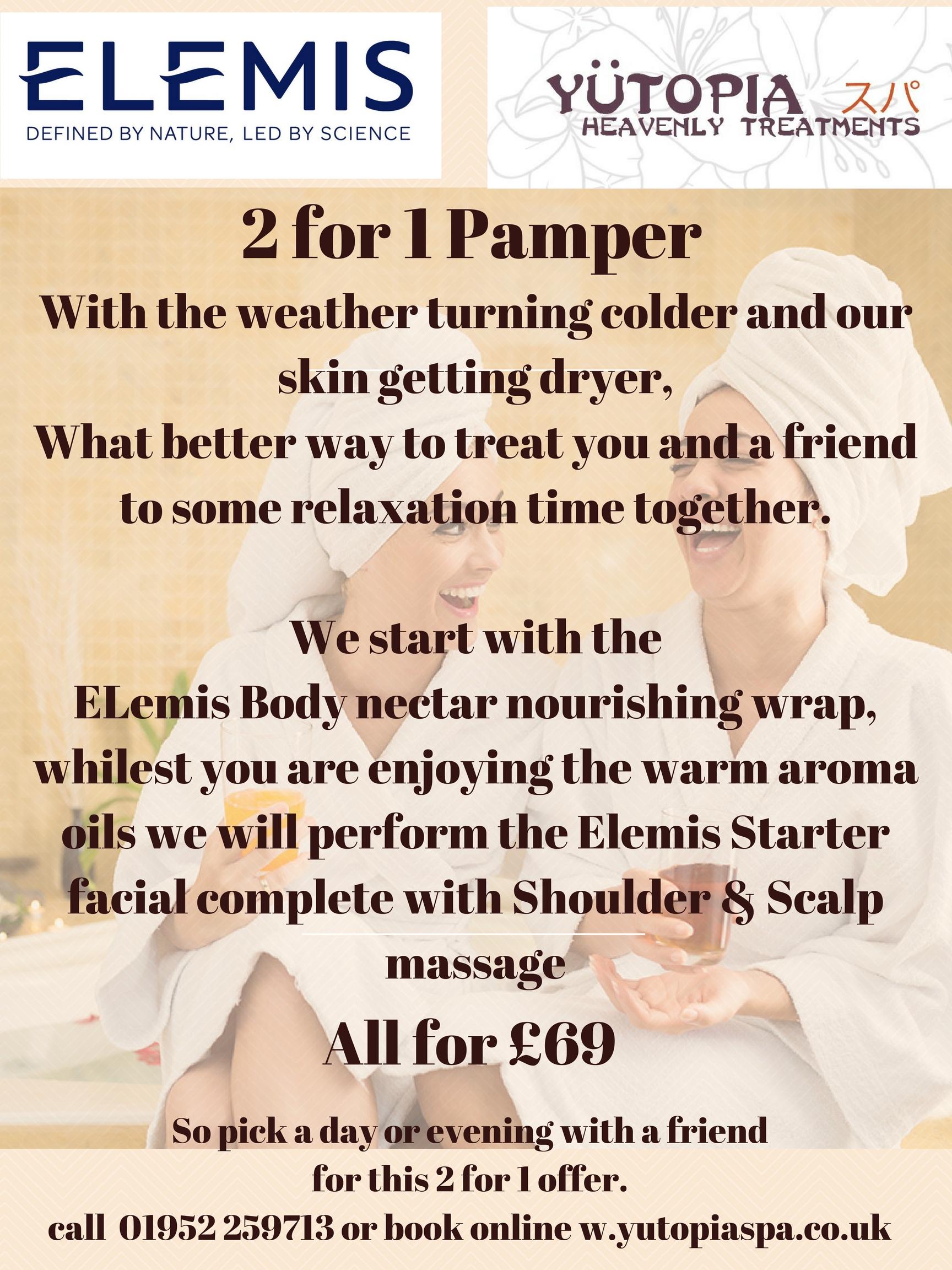 pamper 2 for 1 offer