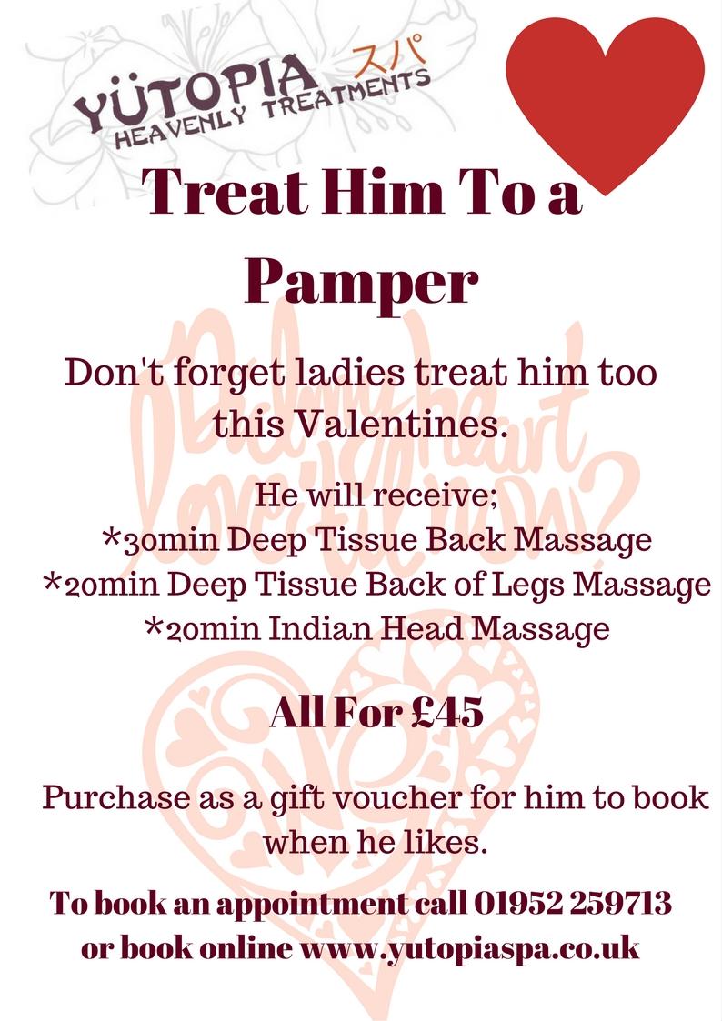 valentines offer for him